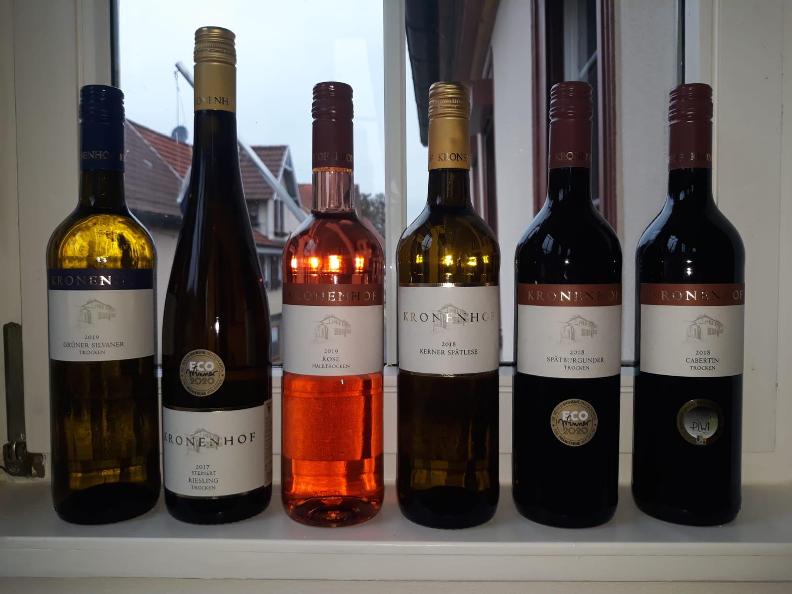 Weinprobe Weingut Kronenhof November 2020